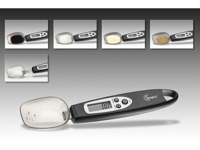 Digitální kuchyňská váha jako - DIGITÁLNÍ LŽÍCE