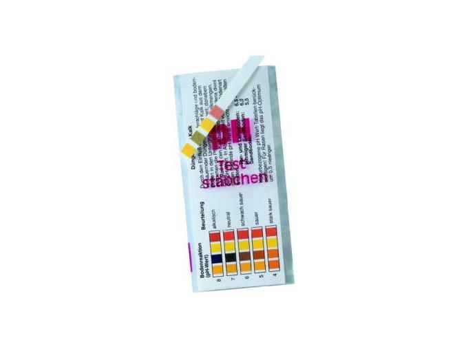 Testovací proužky k měření pH vody i půdy