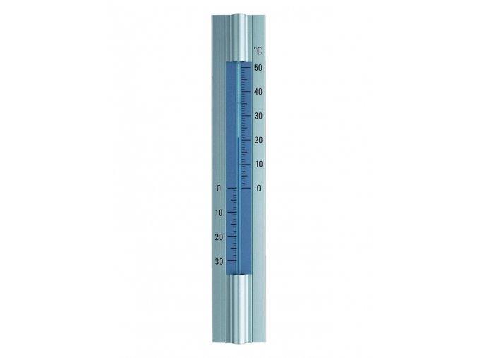 Elegantní hliníkový teploměr, výška 30 cm TFA 12.2045