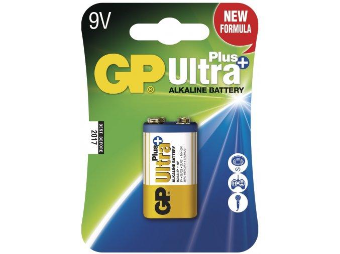 Destičková baterie 9V - GP Ultra Plus Alkaline