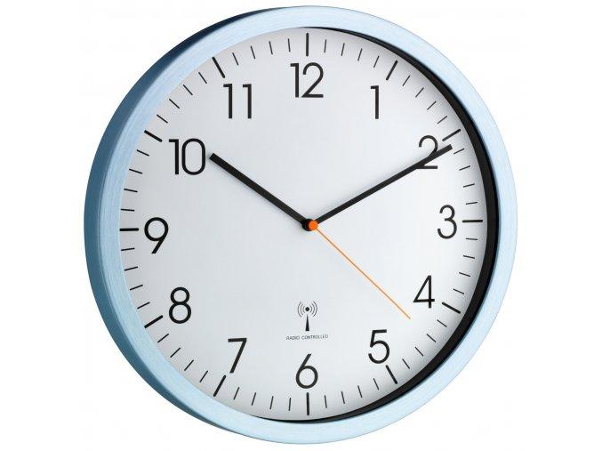 Nástěnné hodiny řízené DCF signálem TFA 60.3517.55, průměr 305 mm; tichý chod