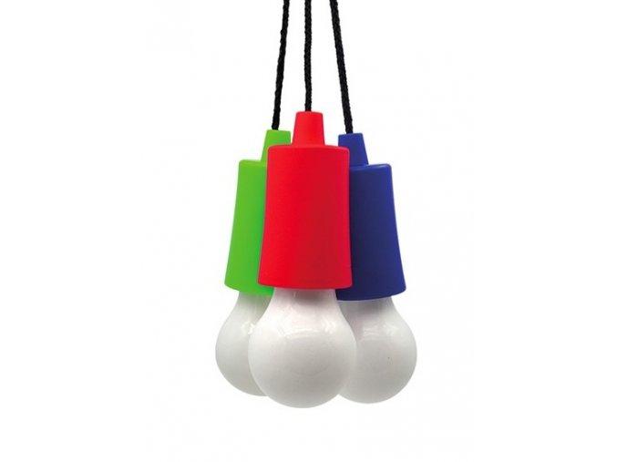 Solight LED svítilna - žárovka, 1W, 50lm, 3 x AAA