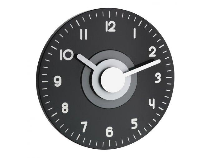 Nástěnné hodiny DCF černo-bílé TFA 60.3508.10