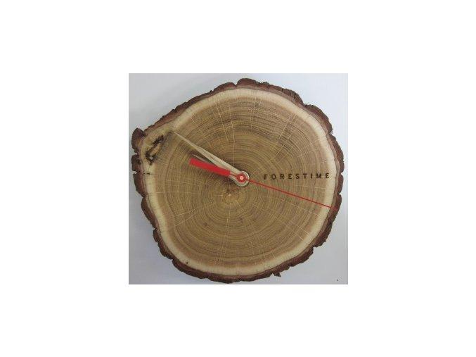 Dřevěné nástěnné hodiny TFA 60.3046.08