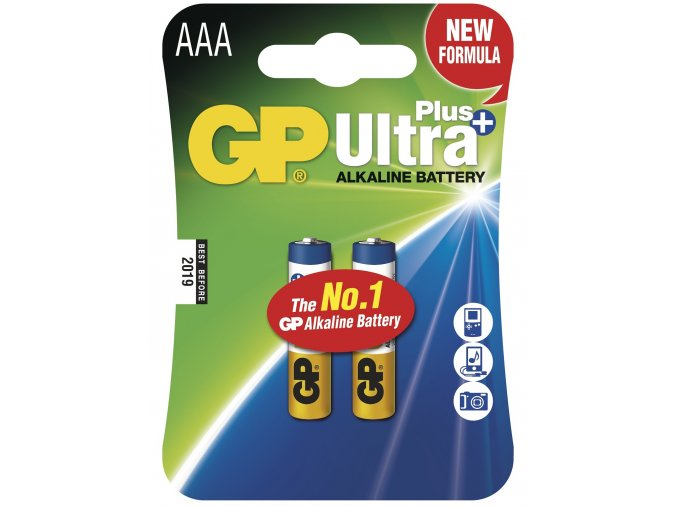 Mikrotužková baterie AAA - GP Ultra Plus Alkaline