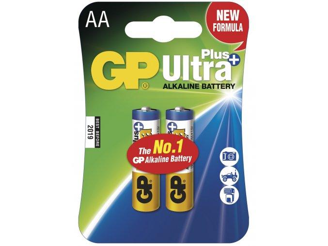 Tužková baterie AA - GP Ultra Plus Alkaline