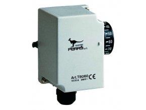 Průmyslový termostat na potrubí +30 až +90 C, 1TCTB060