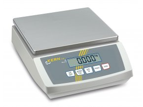 Stolní váha Kern FCB 30K1; max. váživost 30 kg, rozlišení 1 g, nerez plocha