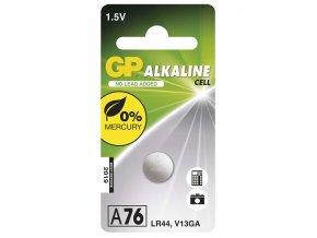 Alkalická knoflíková baterie GP LR44 (A76F)