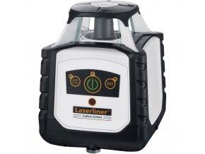 Samonivelační rotační laser Laserliner Cubus Green 110 vč. laserového přijímače, dosah (max.): 100 m