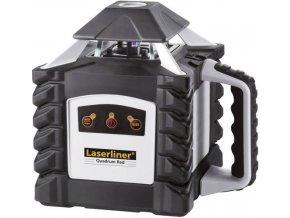 Samonivelační rotační laser Laserliner Quadrum 410 S vč. laserového přijímače, dosah (max.): 400 m