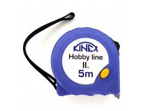 Svinovací metr KINEX Hobby Line II 5m; 8003-2