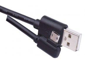 USB kabel 2.0 A/M - micro B/M 1m černý, Quick Charge