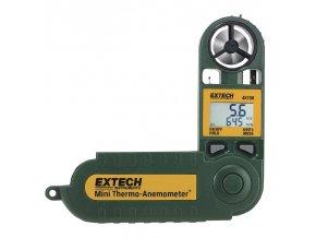 Anemometr + měření teploty a vlhkosti vzduchu EXTECH 45158
