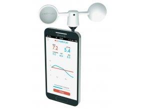 Smartphone anemometr THOR - měření rychlosti větru telefonem