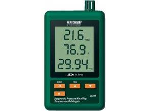 Teplotní, vlhkostní a tlakový datalogger Extech SD700