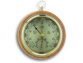 TFA 45.1000.05 | Dřevěný barometr-teploměr | Buk
