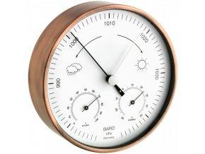 Měděný barometr-teploměr-vlhkoměr TFA 20.2027.51