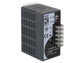 Zdroj pro CCTV 12VDC/3A, instalace na DIN lištu