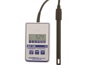 Digitální konduktometr, měření salinity a teploty GLF100
