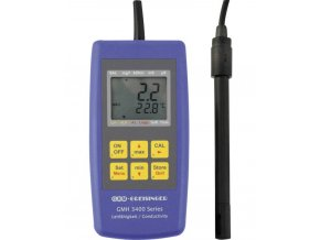Digitální konduktometr, měření salinity GMH3431