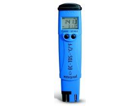 Konduktometr HI98312 - DiST®6 EC/TDS/°C tester - vyšší rozsahy vodivosti