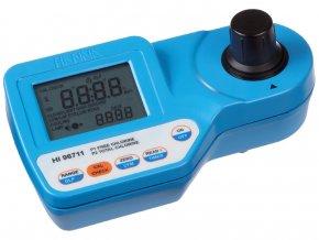 Fotometr HI96711 pro měření celkového a volného chlóru ve vodě