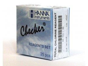 HI711-25 reagence - celkový chlór reagenční prášek