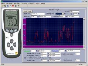 Digitální hlukoměr se záznamem naměřených dat Voltcraft SL-451