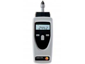 Optický a mechanický otáčkoměr sada testo 470