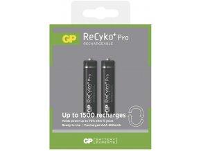 Nabíjecí baterie GP ReCyko+ Pro Professional HR03 (AAA), 2ks