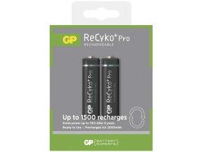 Nabíjecí baterie GP ReCyko+ Pro Professional HR6 (AA), 2 ks