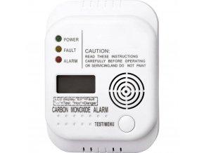 Detektor úniku oxidu uhelnatého (CO) Smartwares RM370 SW, na baterii