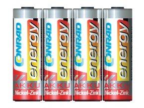 Nabíjecí baterie NiZn; AA; 1500 mAh; 1,6 V; 4 kusy