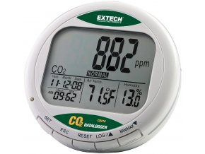Datalogger EXTECH CO210 - měření CO2, měření teploty a vlhkosti vzduchu