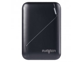 Power bank RAVER 6600 mAh černý | B0511
