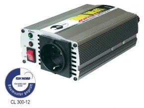 Měnič napětí 12V 230V do 300W