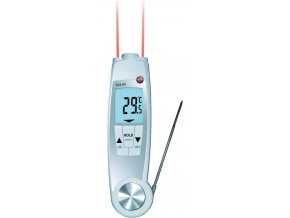 IR vpichovací teploměr testo 104-IR, NTC: -50 až +250 °C, IR: -30 až +250 °C