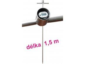 Dlouhý digitální tyčový teploměr - 1500 mm