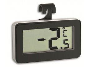 Digitální chladničkový teploměr TFA 30.2028.01 - černý