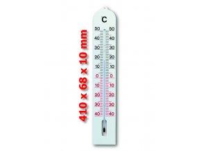 VELKÝ indoor outdoor teploměr - lihový TFA 12.3005