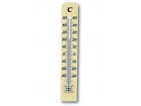 Dřevěný kapalinový teploměr TFA 12.1003.05