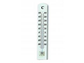 Dřevěný kapalinový teploměr TFA 12.1003.09 - bílý