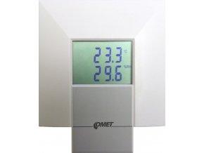 T3218 Interiérový snímač teploty a vlhkosti s výstupem 0-10V