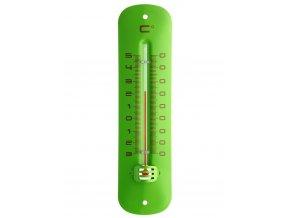 Kapalinový IN/OUT teploměr TFA 12.2051.04 - zelený, kovový