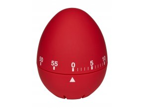 Kuchyňská minutka - vajíčko TFA 38.1032.05; červená