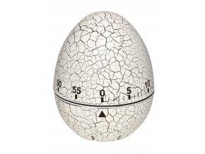 Kuchyňská minutka - vajíčko TFA 38.1033.02; BÍLÁ