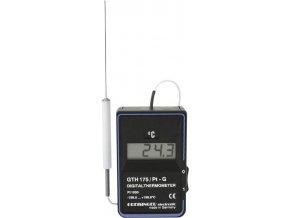 Přesný digitální teploměr GTH 175 Pt-G, -199,9 až +199,9°C, teplotní čidlo Pt1000
