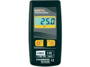 Greisinger GMH 175 | Digitální teploměr Pt1000 pro výměnné snímače | -199,9 až +199,9 °C