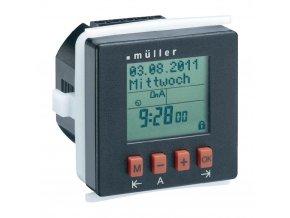 Digitální spínací hodiny na DIN lištu Müller SC 24.10 pro, 230 V/AC